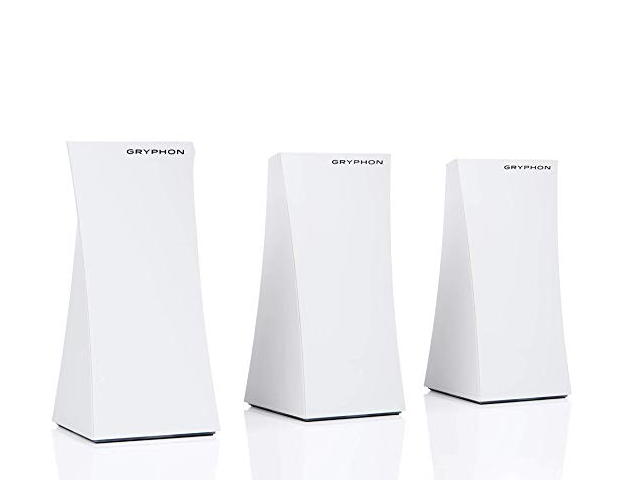 Gryphon Mesh WiFi Security Router and Parental Control System (3-pack)