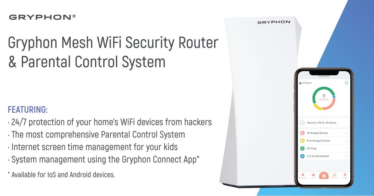 Support Center - Gryphon - Smart Mesh WiFi Router with