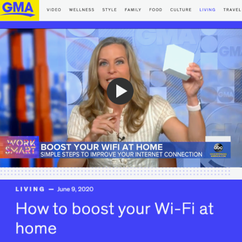 Gryphon Guardia featured on Good Morning America